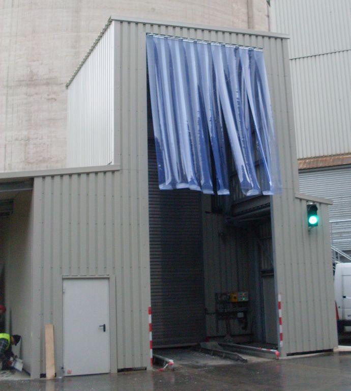 Stahlbau Wetterschutz ● Dyckerhoff GmbH (Werk Göllheim) - Wiesbaden 2/2