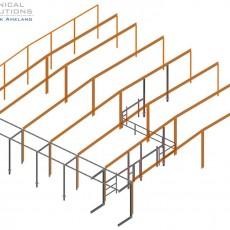 Erweiterung Hallenkonstruktion ● Deco Glas GmbH – Montabaur