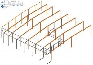 Erweiterung Hallenkonstruktion ● Deco Glas GmbH - Montabaur