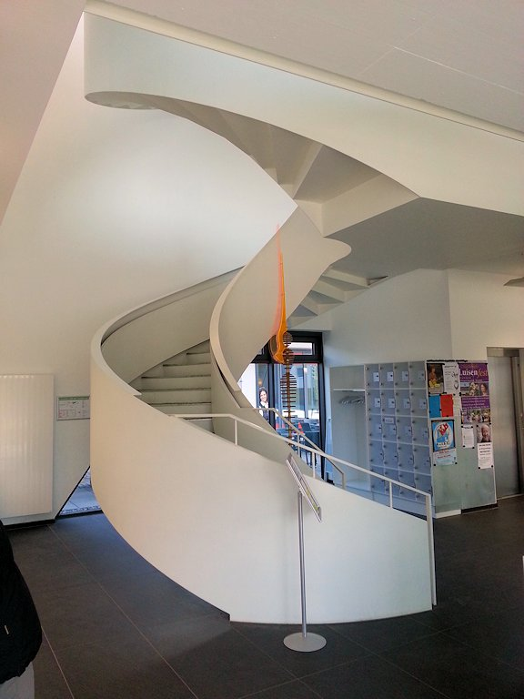 Wendeltreppen- und Geländerkonstruktion ● Medienschiff Weiterstadt 3/3