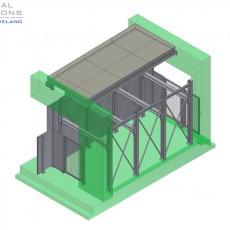 Bühne und Durchgang ● Moritz J. Weig GmbH & Co. KG – Mayen