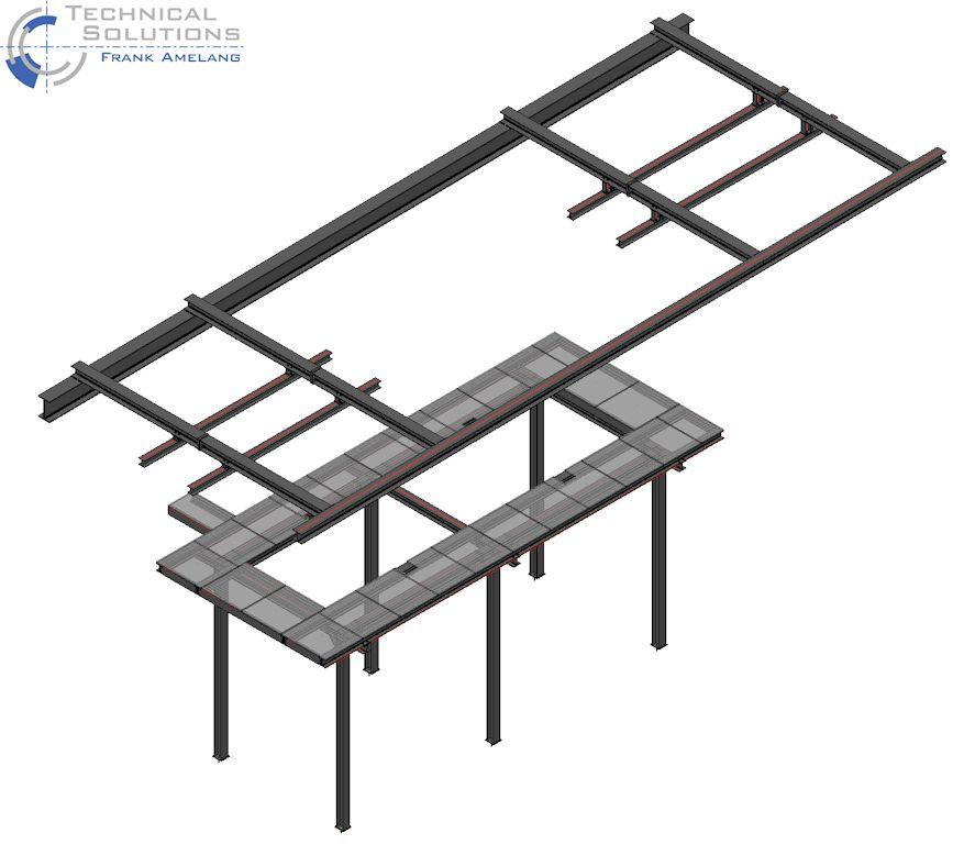Bühnen- und Kranschienenkonstruktion ● Mainova AG - Frankfurt