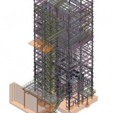 Errichtung Siloturm ● Quarzwerke GmbH – Frechen
