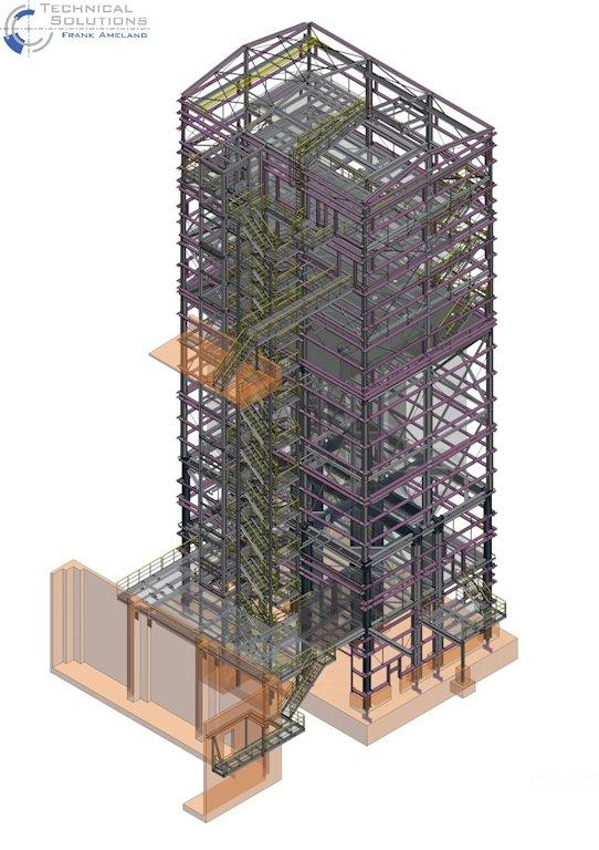 Errichtung Siloturm ● Quarzwerke GmbH - Frechen 1/11