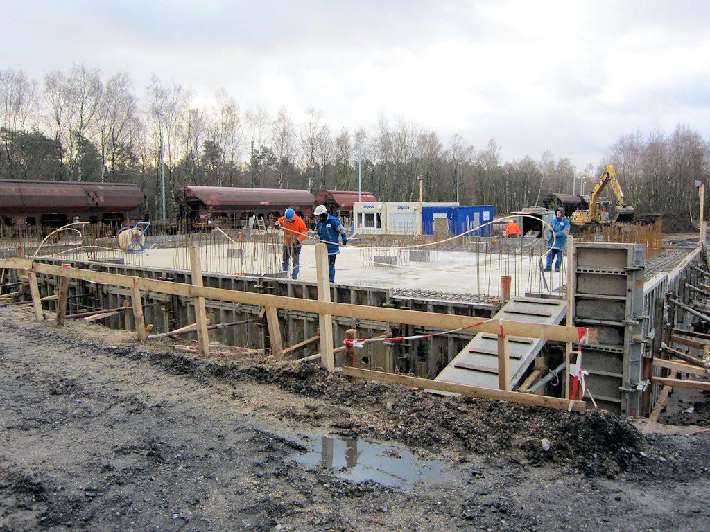 Errichtung Siloturm ● Quarzwerke GmbH - Frechen 2/11