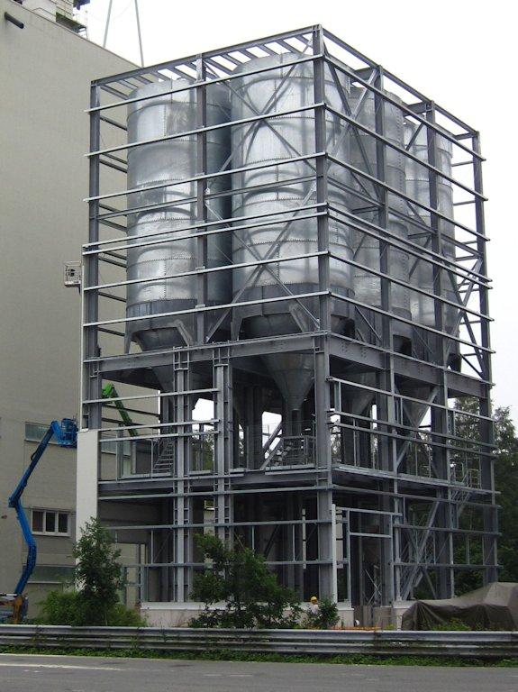 Errichtung Siloturm ● Quarzwerke GmbH - Frechen 4/11