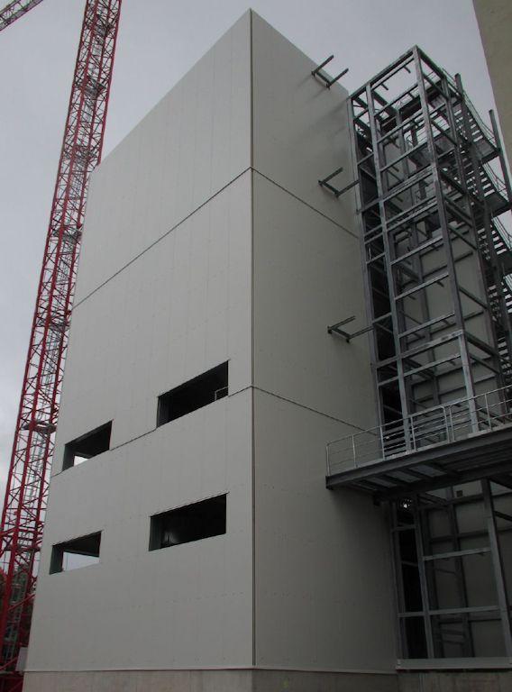 Errichtung Siloturm ● Quarzwerke GmbH - Frechen 5/11