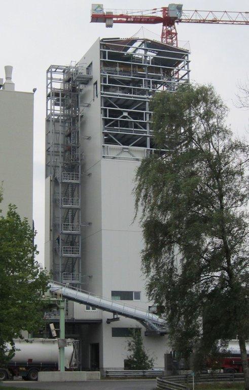 Errichtung Siloturm ● Quarzwerke GmbH - Frechen 6/11