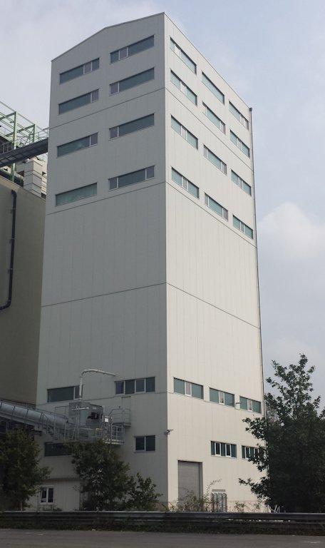 Errichtung Siloturm ● Quarzwerke GmbH - Frechen 9/11