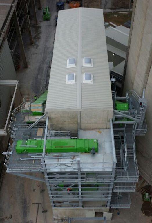 Stahlbaukonstruktion Fluffhalle ● Dyckerhoff AG - Werk Göllheim 10/10