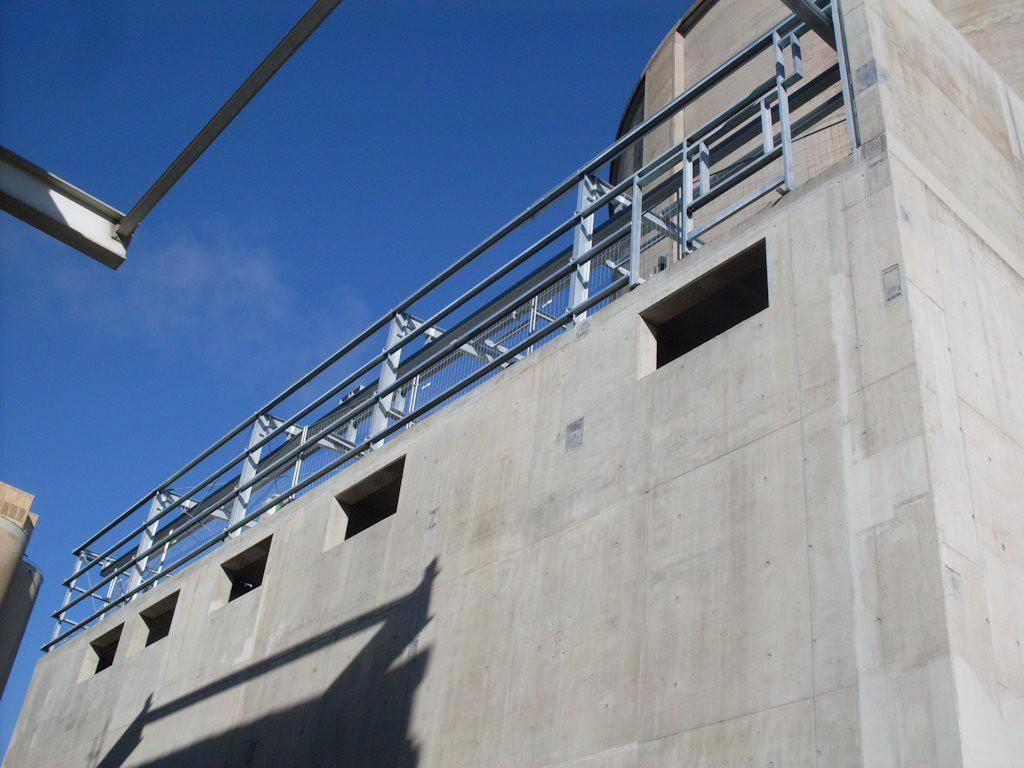 Stahlbaukonstruktion Fluffhalle ● Dyckerhoff AG - Werk Göllheim 4/10