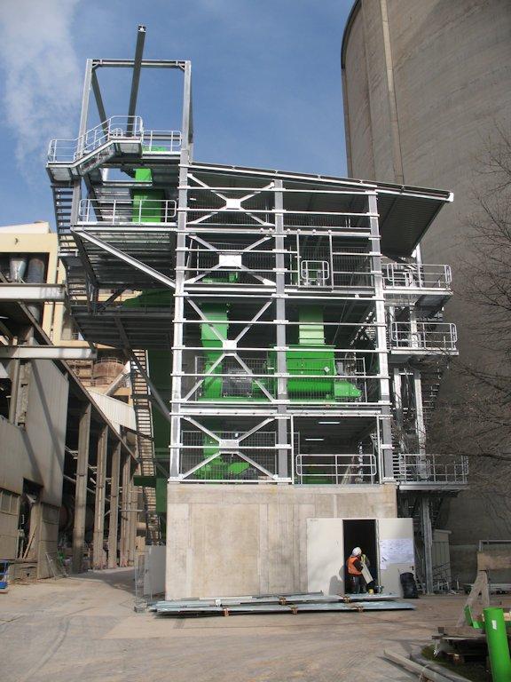 Stahlbaukonstruktion Fluffhalle ● Dyckerhoff AG - Werk Göllheim 5/10