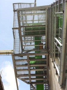 Stahlbaukonstruktion Fluffhalle ● Dyckerhoff AG - Werk Göllheim