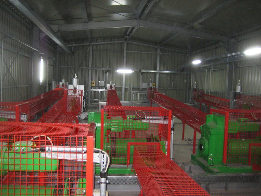 Stahlbaukonstruktion Fluffhalle ● Dyckerhoff AG - Werk Göllheim 8/10