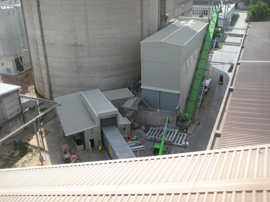 Stahlbaukonstruktion Fluffhalle ● Dyckerhoff AG - Werk Göllheim 9/10
