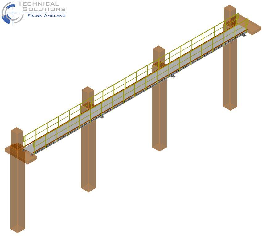 Laufsteg- und Treppenturmanlage ● Moritz J. Weig GmbH & Co. KG - Mayen 1/2