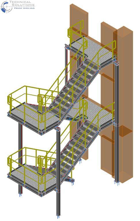 Laufsteg- und Treppenturmanlage ● Moritz J. Weig GmbH & Co. KG - Mayen 2/2