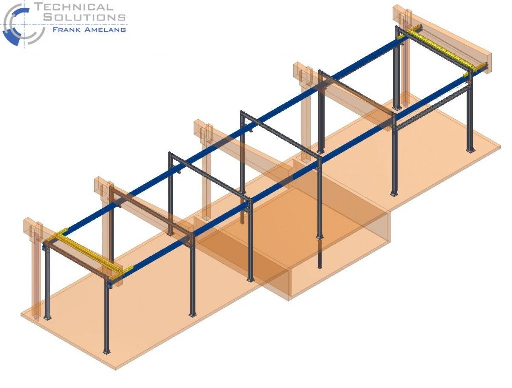 Kranbahnkonstruktion ● Moritz J. Weig GmbH & Co. KG - Mayen 1/2