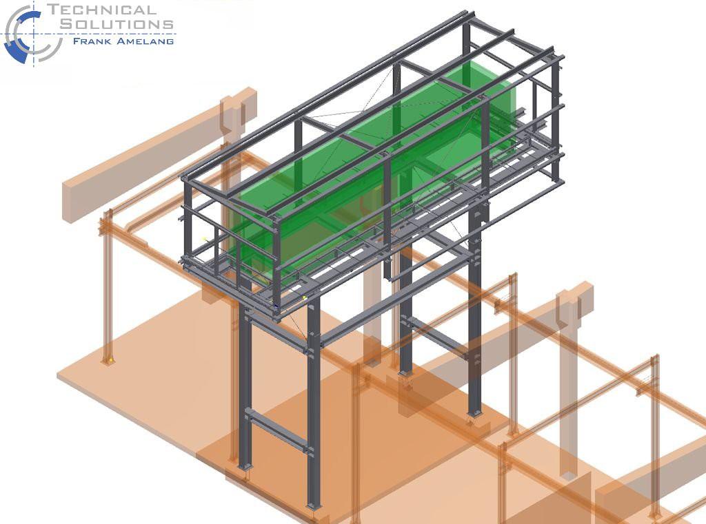 Unterkonstruktion ELO-Container ● Moritz J. Weig GmbH & Co. KG - Mayen 1/6