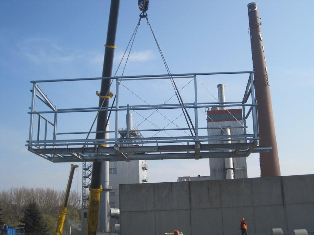 Unterkonstruktion ELO-Container ● Moritz J. Weig GmbH & Co. KG - Mayen 3/6