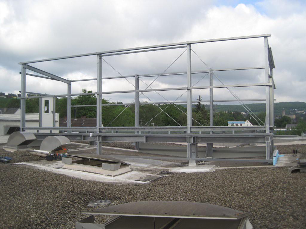 Unterkonstruktion ELO-Container ● Moritz J. Weig GmbH & Co. KG - Mayen 4/6