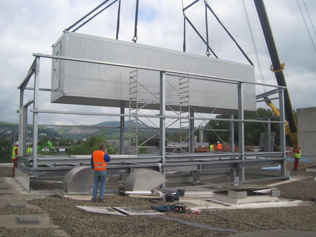 Unterkonstruktion ELO-Container ● Moritz J. Weig GmbH & Co. KG - Mayen 5/6