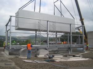 Unterkonstruktion ELO-Container ● Moritz J. Weig GmbH & Co. KG - Mayen