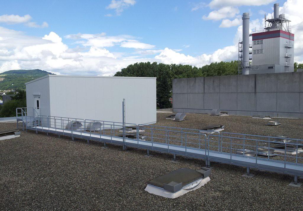 Unterkonstruktion ELO-Container ● Moritz J. Weig GmbH & Co. KG - Mayen 6/6
