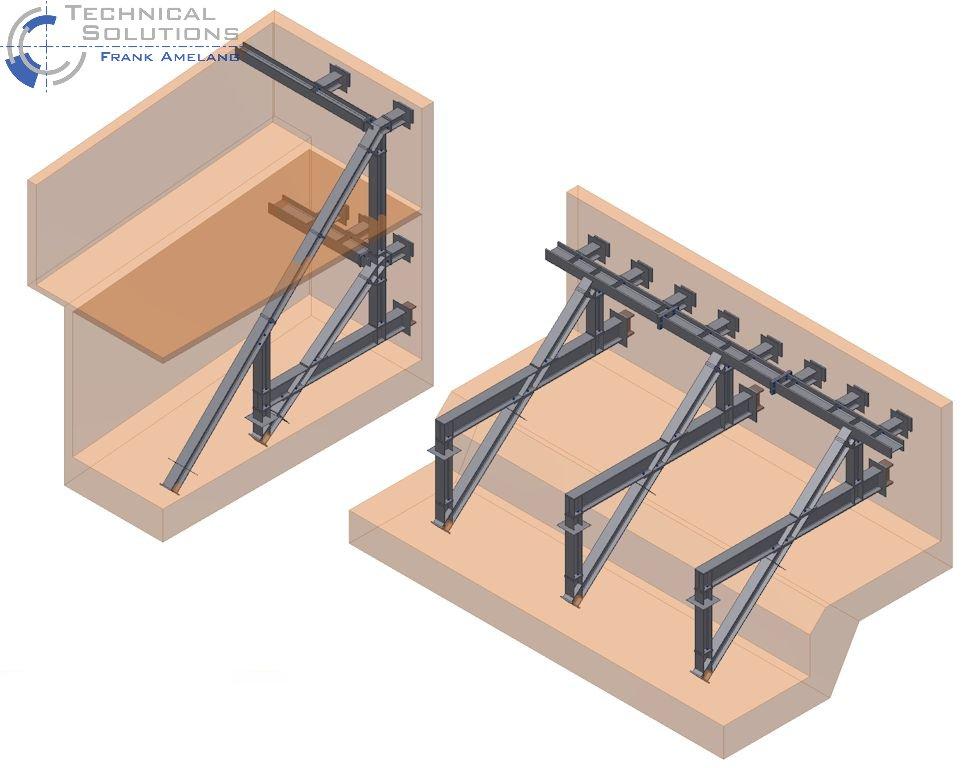 Stahlbau Baugrubensicherung ● NM 80 GmbH & Co. KG - Eschborn