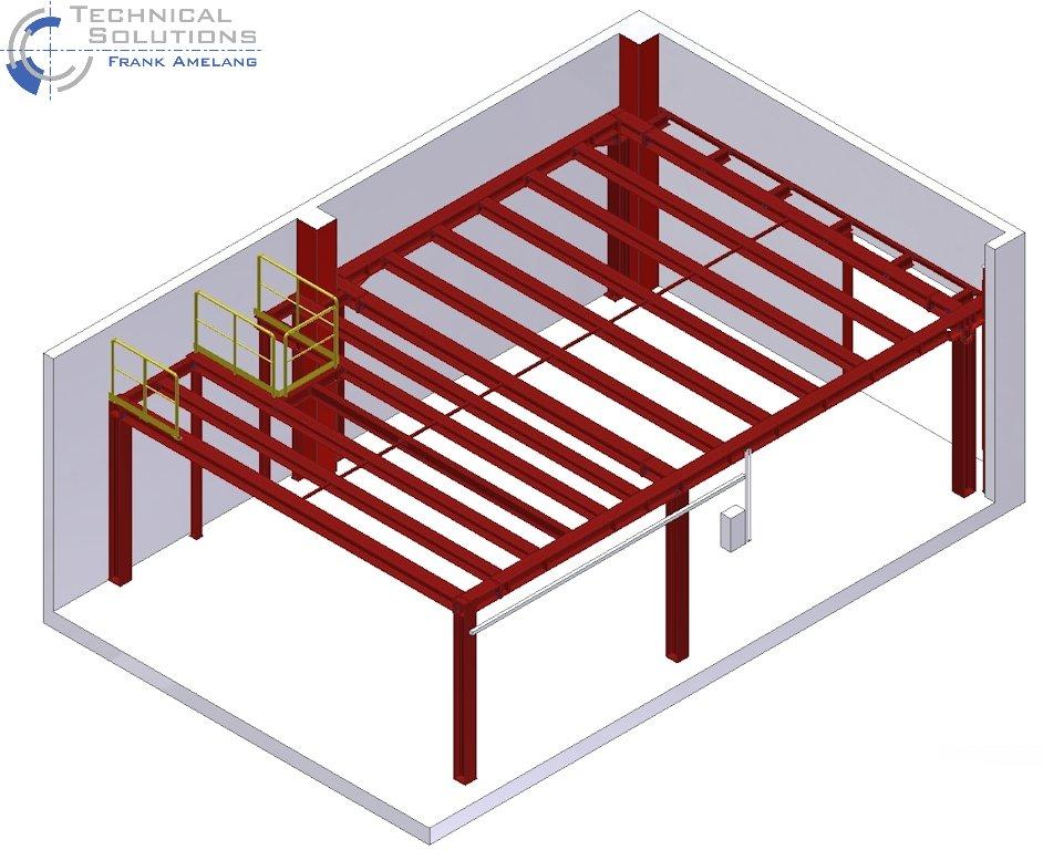Stahlbühnenkonstruktion ● Caesar & Loretz GmbH - Bonn