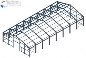Neubau einer Lagerhalle ● Markus Graffe GmbH - Langenlonsheim