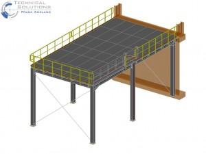 temporäre Bühnenkonstruktion KM6 ● Tecnokarton GmbH & Co. KG - Mayen