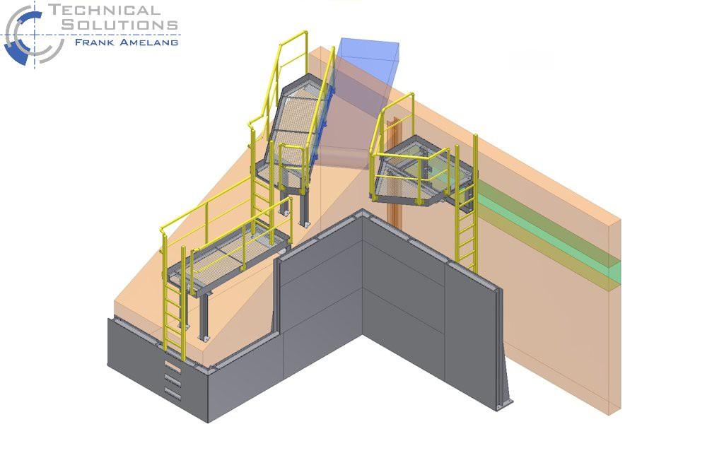 Laufsteg- und Wandkonstruktion ● Moritz J. Weig GmbH & Co. KG - Mayen