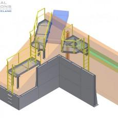 Laufsteg- und Wandkonstruktion ● Moritz J. Weig GmbH & Co. KG – Mayen