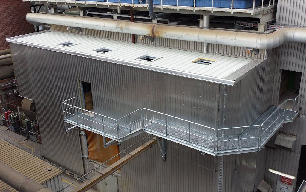 Aufstockung Kraftwerksgebäude ● Moritz J. Weig GmbH & Co. KG - Mayen 3/4