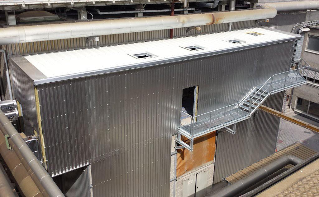 Aufstockung Kraftwerksgebäude ● Moritz J. Weig GmbH & Co. KG - Mayen 4/4