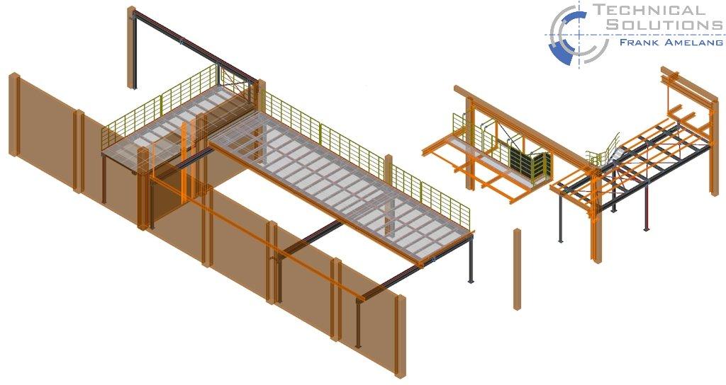 Erweiterungen Förderbühnen ● Procter & Gamble Manufacturing GmbH - Euskirchen 1/4
