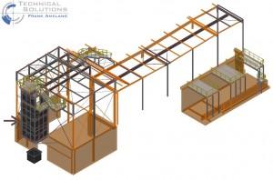 Aufstockung Gebäude Pulper 6 ● Tecnokarton GmbH & Co. KG - Mayen 1/14
