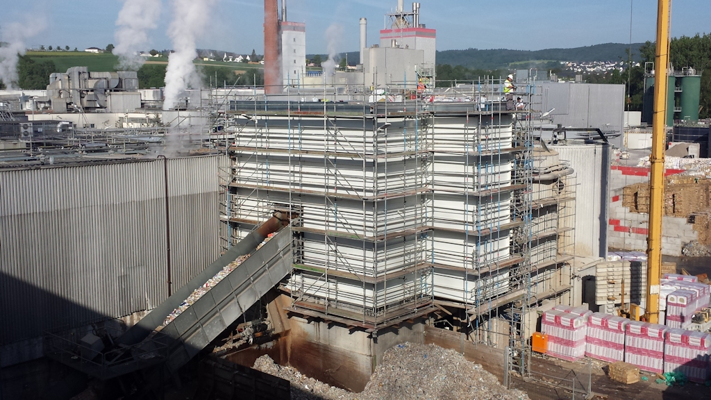 Aufstockung Gebäude Pulper 6 ● Tecnokarton GmbH & Co. KG - Mayen 10/14