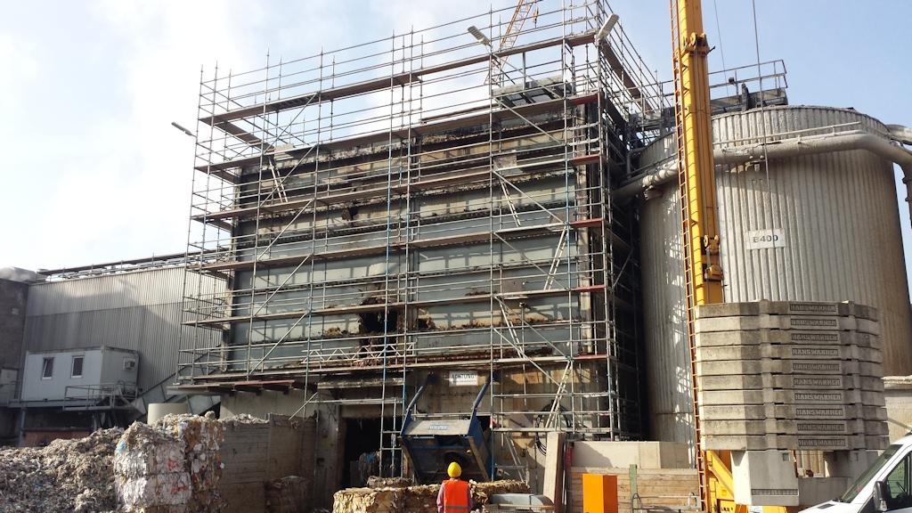 Aufstockung Gebäude Pulper 6 ● Tecnokarton GmbH & Co. KG - Mayen 4/14