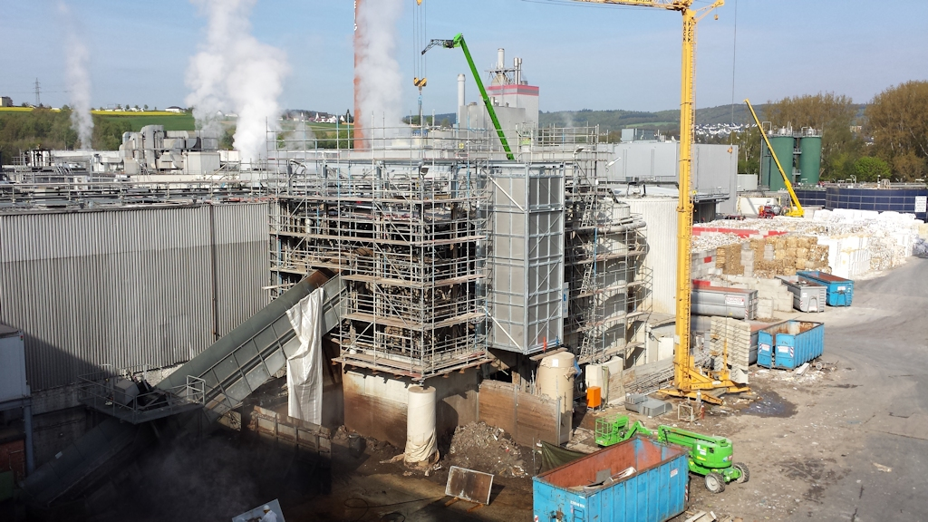 Aufstockung Gebäude Pulper 6 ● Tecnokarton GmbH & Co. KG - Mayen 7/14