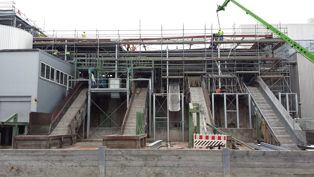 Aufstockung Gebäude Pulper 6 ● Tecnokarton GmbH & Co. KG - Mayen 9/14