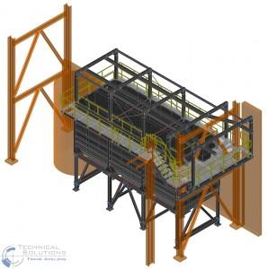 Umbau Sedimentation ● Egger Holzwerkstoffe Wismar GmbH & Co. KG, Wismar 1/4