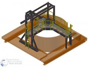 Umbau Sedimentation ● Egger Holzwerkstoffe Wismar GmbH & Co. KG, Wismar 2/4