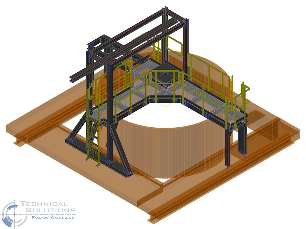Umbau Sedimentation ● Egger Holzwerkstoffe Wismar GmbH & Co. KG - Wismar 2/4