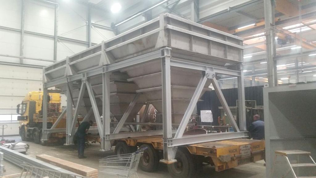 Umbau Sedimentation ● Egger Holzwerkstoffe Wismar GmbH & Co. KG - Wismar 3/4