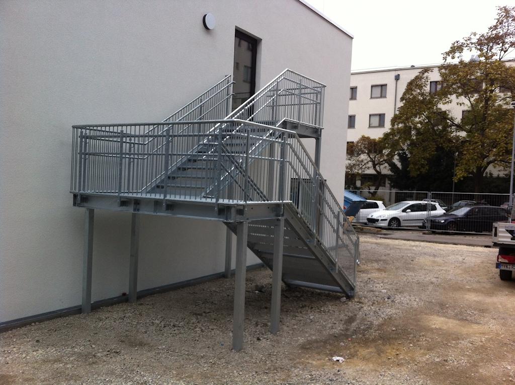 Außentreppenanlage, KiTa - Stuttgart