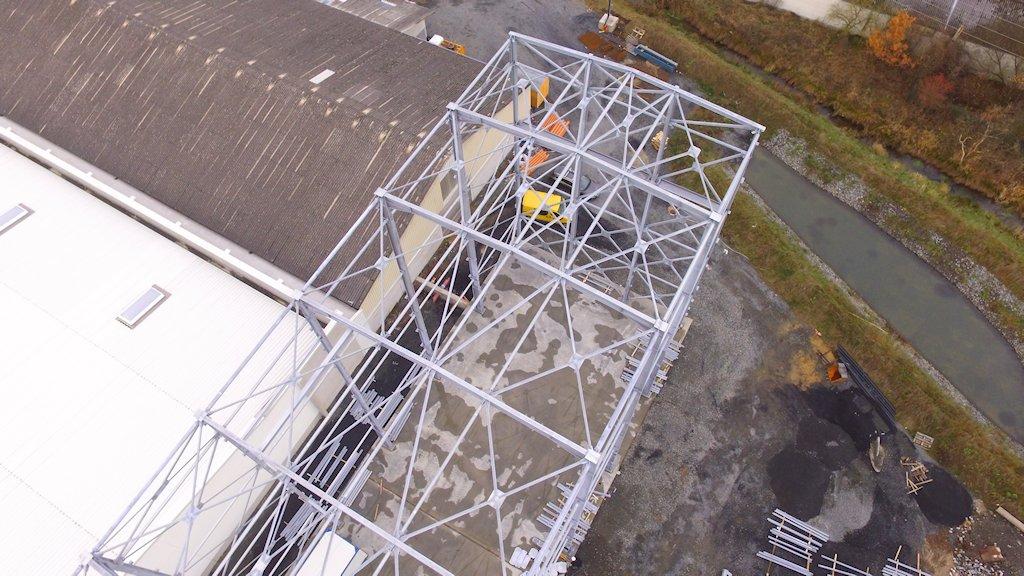 Hallenkonstruktion mit Treppenturmanlage ● Alois Korzilius Interbau GmbH & Co. KG - Ransbach-Baumbach 3/4