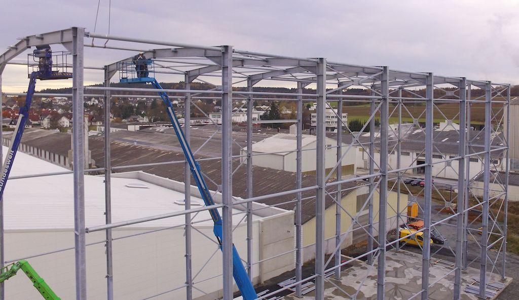 Hallenkonstruktion mit Treppenturmanlage ● Alois Korzilius Interbau GmbH & Co. KG - Ransbach-Baumbach 4/4