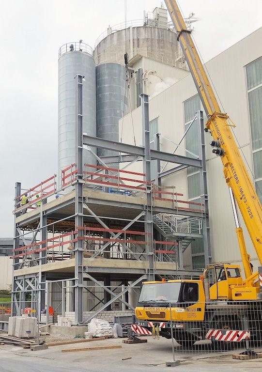 Neubau Kalkmilchanlage 5 ● SCHAEFER KALK GmbH & Co. KG - Hahnstätten 2/4